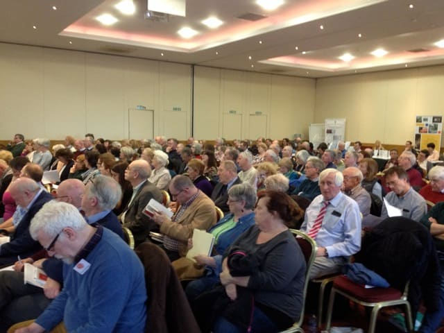 Large Audience at 19 March 2016 Cork Genealogy Conference
