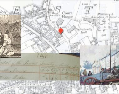 Tenants in Pudding Lane, Thurles, Co. Tipperary  1816/17