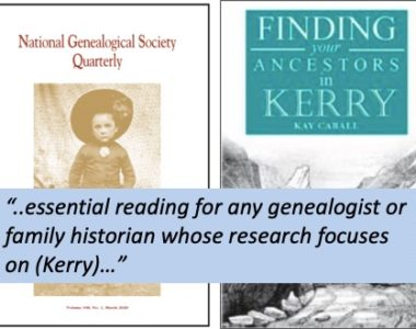 NGS Quarterly review of 'Finding your Ancestors in Kerry'