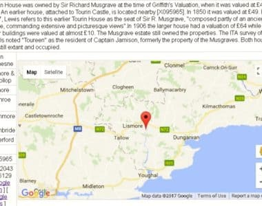 Residents of Tourin townland, Waterford in 1841.