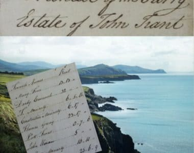 Tenants of the Trant Estate in Dingle, Co. Kerry in 1791