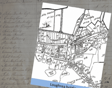 Some tenants of Clanricarde Estate in Loughrea, Galway in 1780