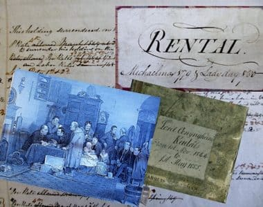 Rentals as a resource for Irish family history