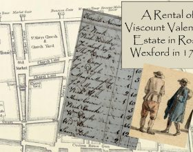Tenants of New Ross, Co. Wexford in 1768.