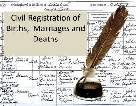 Civil Registration of Birth, Marriage and Death in Ireland