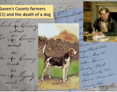 Some Queen's County farmers in 1821 and a tale of a hound