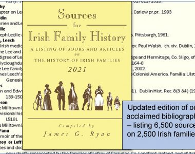 New e-Book:  'Sources for Irish Family History – 2021'